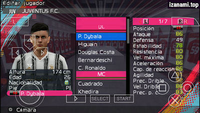 (Nouveau) PES 2021 PPSSPP ISO (500MB) Camera PS4 Hors ligne pour Android