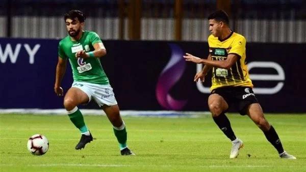 اهداف مباراة الاتحاد السكندري والانتاج الحربي (1-1) الدوري المصري