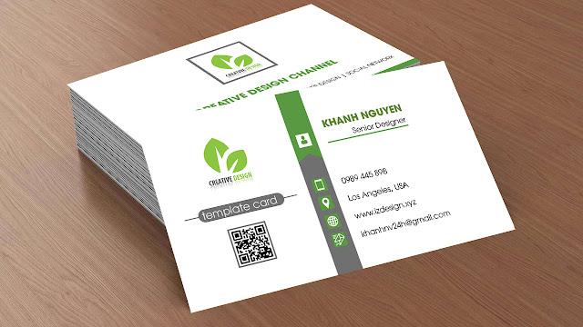 Thiết kế namecard, danh thiếp, visit mẫu 10
