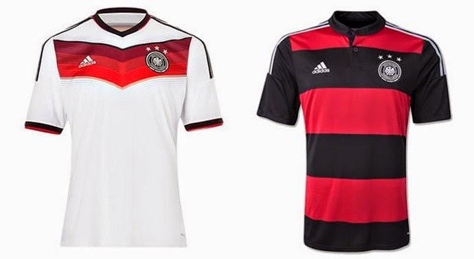 Uniforme da Seleção da Alemanha