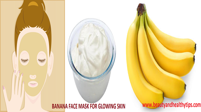 Banana Face Pack For Glowing Skin