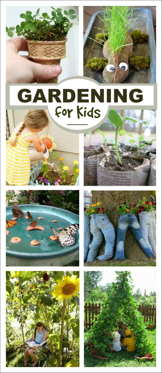 An amazing collection of gardening activities for kids-  so many neat ideas!!
