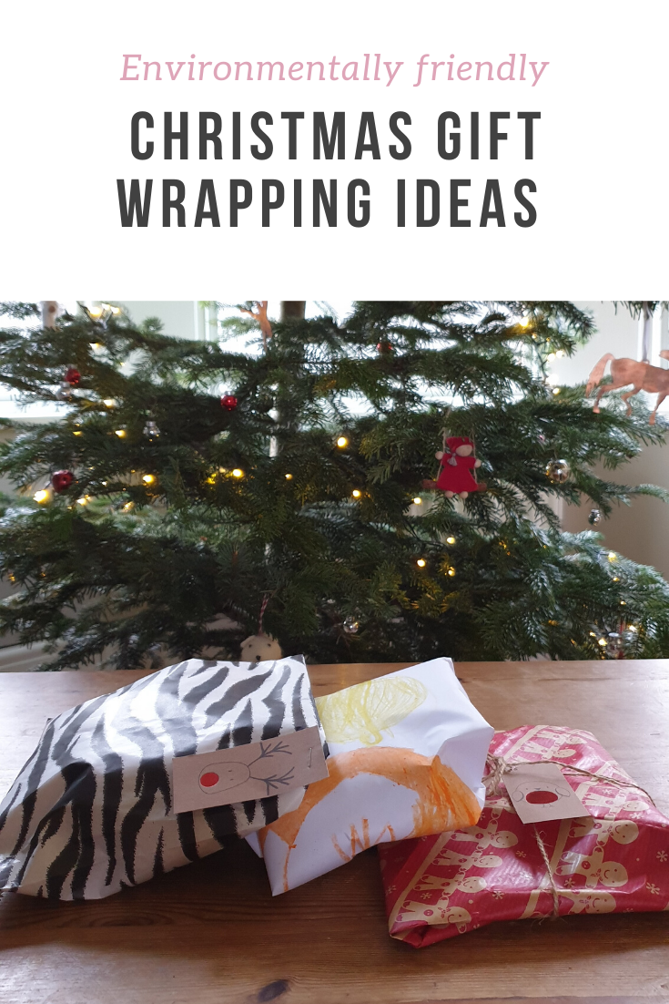 10 ideas for how to make gift wrapping more environmentally friendly - including tips for decorations, wrapping paper ideas and reusable options.