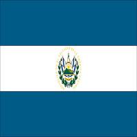 Bandiera di El Salvador paese in cui il Beato Oscar Arnulfo Romero testimoniò fino al martirio il Vangelo di Gesù