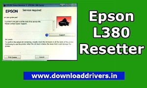 Download Epson L380 resetter tool program | Red light blinking SOLVED