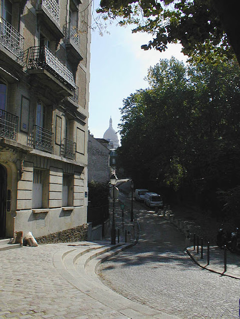 Montmartre, Paris, France. Photo by Loire Valley Time Travel.