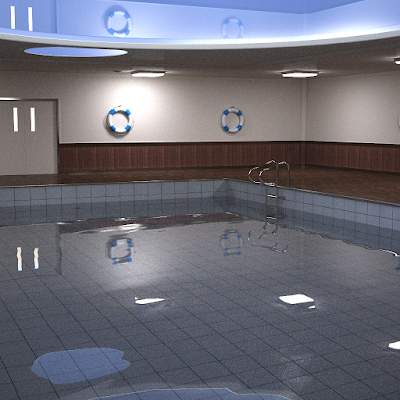 DAZ Utopia Pool Unfinished Render