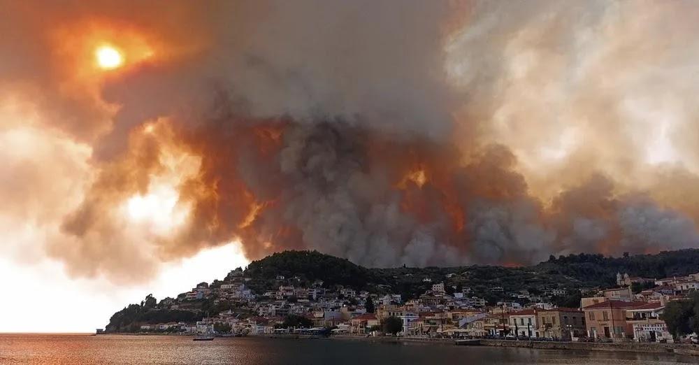 Λίμνη Ευβοίας:  Συγκλονιστική μαρτυρία πυρόπληκτου – «Πώς μπορείς να κάψεις έναν νομό με μηδέν μποφόρ»
