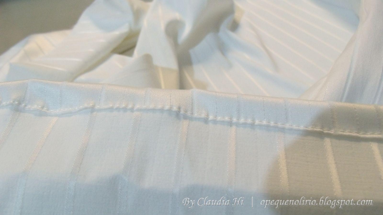 passo a passo, diy, room curtain, cortina de quarto, branco, barra