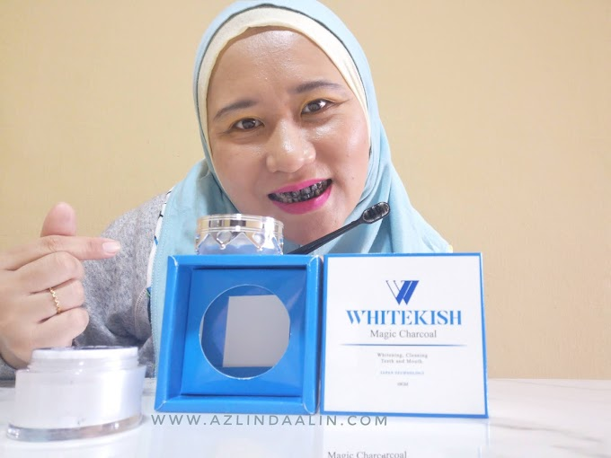7 HARI GIGI PUTIH DENGAN WHITEKISH MAGIC CHARCOAL
