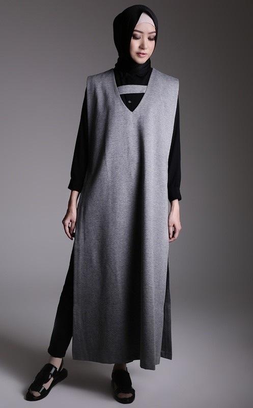 Cerita Ramadhan Style Hijab Casual Tanpa Celana Jeans Riska Ngilan
