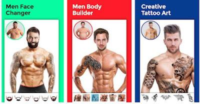 Aplikasi Men Body Style SixPack