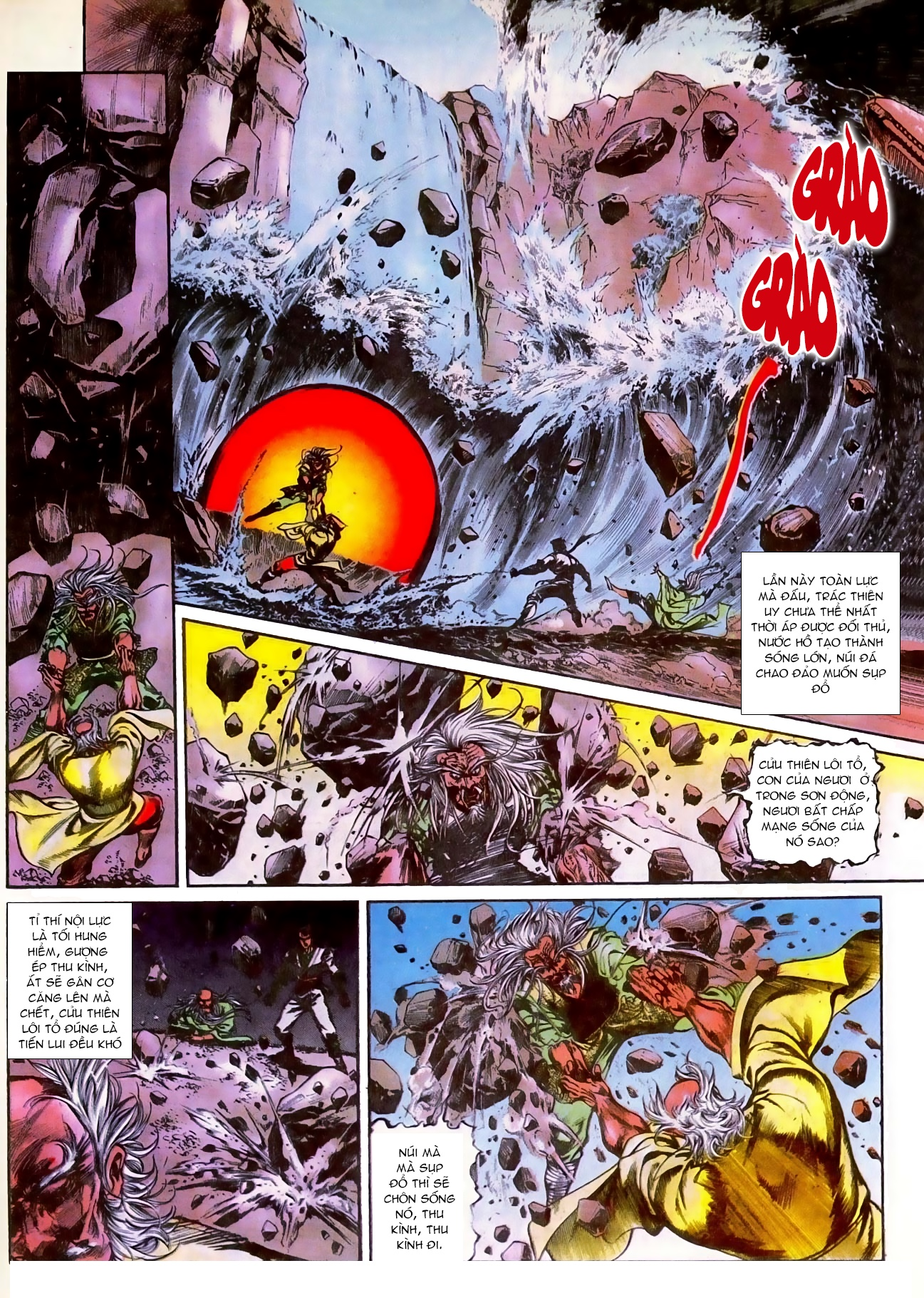 Thiết Tướng Tung Hoành chap 270 - Trang 12