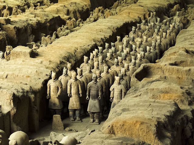 Terracotta Army near Xi'an China