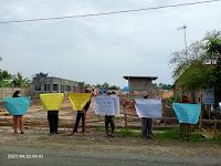Puluhan Warga Datangi Lokasi Pembangunan Gudang Milik PT. Niagatama Kencana di Sei Rampah