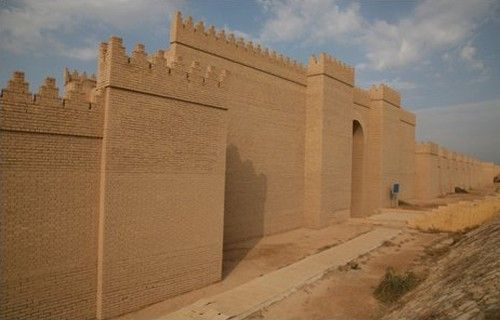 Tembok Babel, Irak