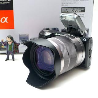 Kamera Mirrorless Sony NEX-5N Fullset