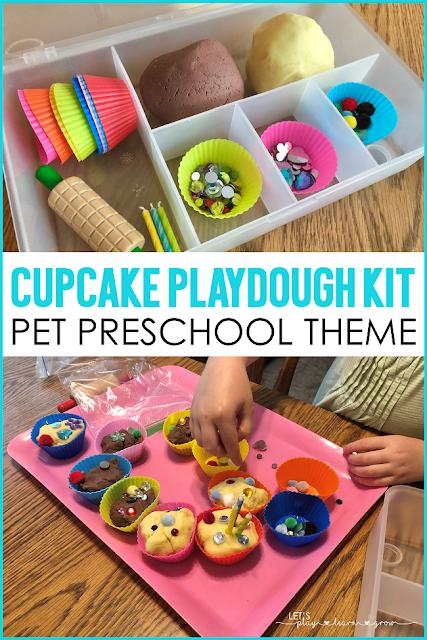 Cupcake Playdough Kit