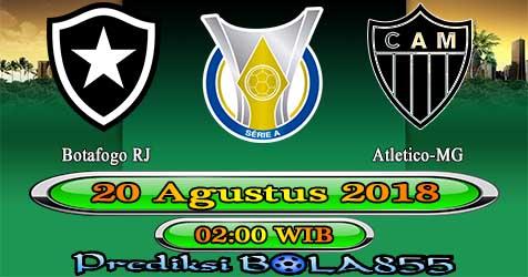 Prediksi Bola855 Botafogo RJ vs Atletico-MG 20 Agustus 2018