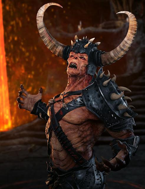 Demon HD for Genesis 8 Male