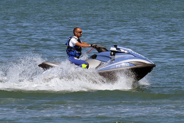PWC Yamaha FX High Output, Polizia di Stato, port of Livorno