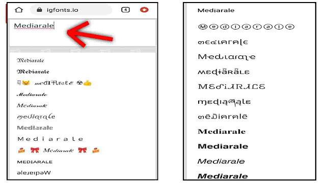 Cara Mengubah Font Caption, Nama, Bio di IG