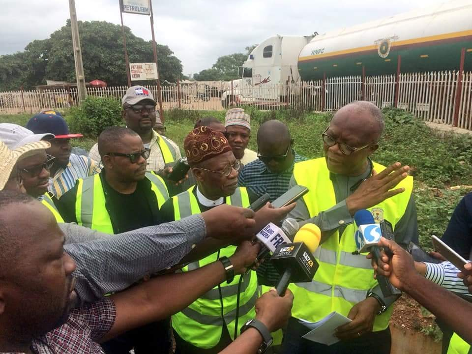 Lai Mohammed Inspects Ongoing Road Constructions In Kwara State (Photos)