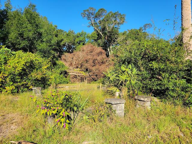 Pinehurst and San Sebastian Cemeteries in St. Augustine Florida
