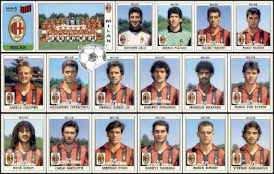 Figurine Calciatori Panini Milan 1989/90