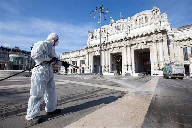 """Italia admite un crecimiento de casos de coronavirus pero dice que son """"en su mayoría asíntomáticos"""""""