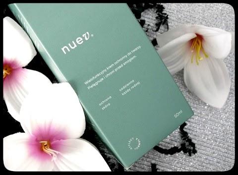 Nuev - wielofunkcyjny krem ochronny przed smogiem i szkodliwymi czynnikami zewnętrznymi