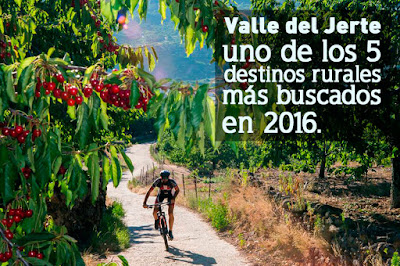 Valle del Jerte, uno de los 5 destinos rurales más buscados en 2016