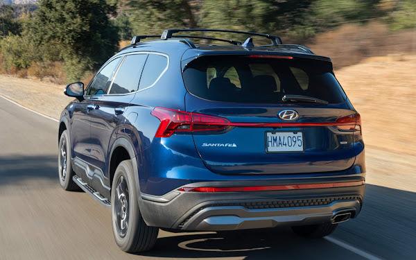Hyundai Santa Fé 2022 ganha versão XRT esportiva - fotos e detalhes