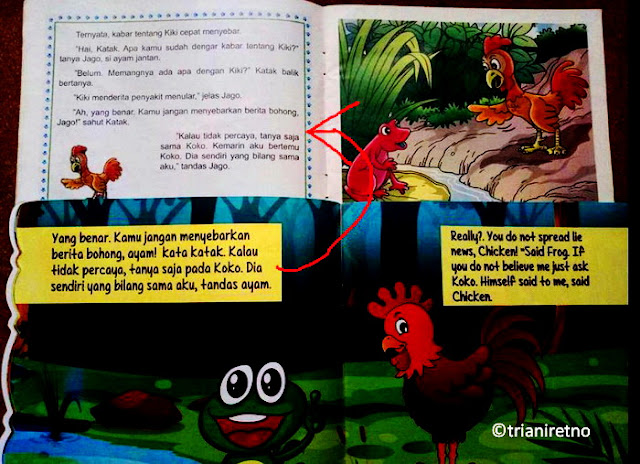 Buku anak tiga serangkai diplagiat