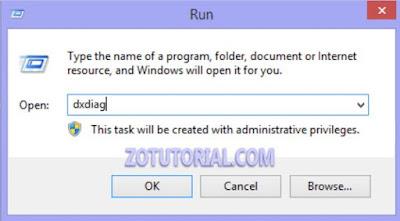 Melihat Spesifikasi Laptop Windows 10, 8, 7 via regedit by zotutorial.com