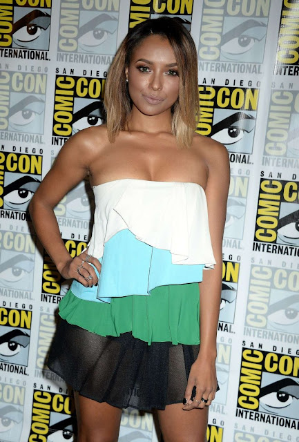 Kat Graham – 'The Vampire Diaries' Press Line at Comic-Con International in San Diego