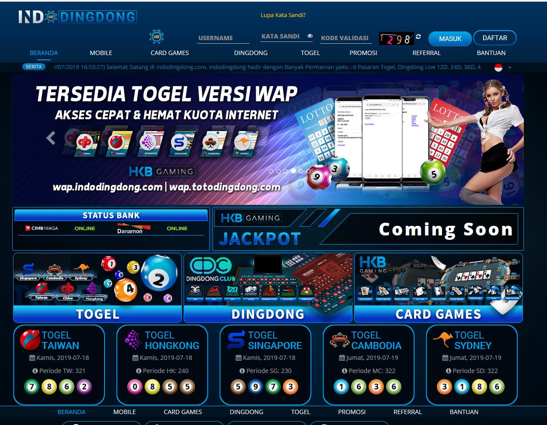 Situs Hkb Gaming Indodingdong 2019