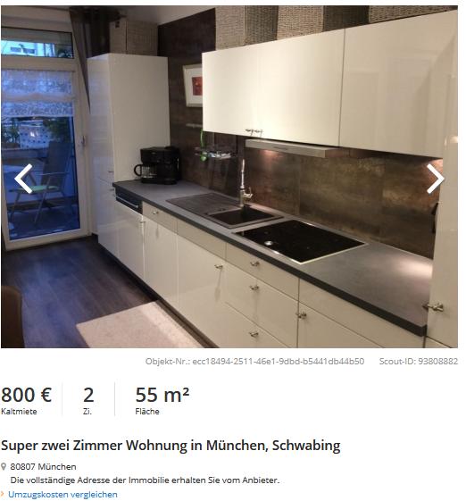 Rental scam mit for 55 qm wohnzimmer