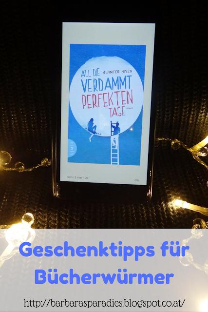 Geschenktipps für Bücherwürmer: All die verdammt perfekten Tage von Jennifer Niven