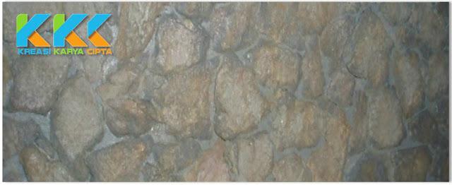 Jasa Cat Dekoratif Motif Batu Alam