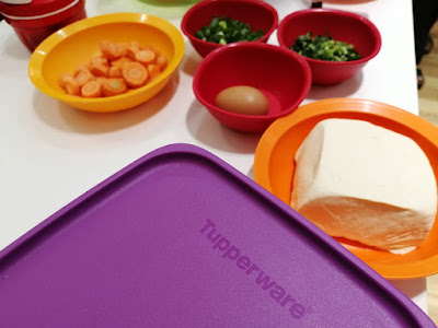 Kitchen Set Tupperware