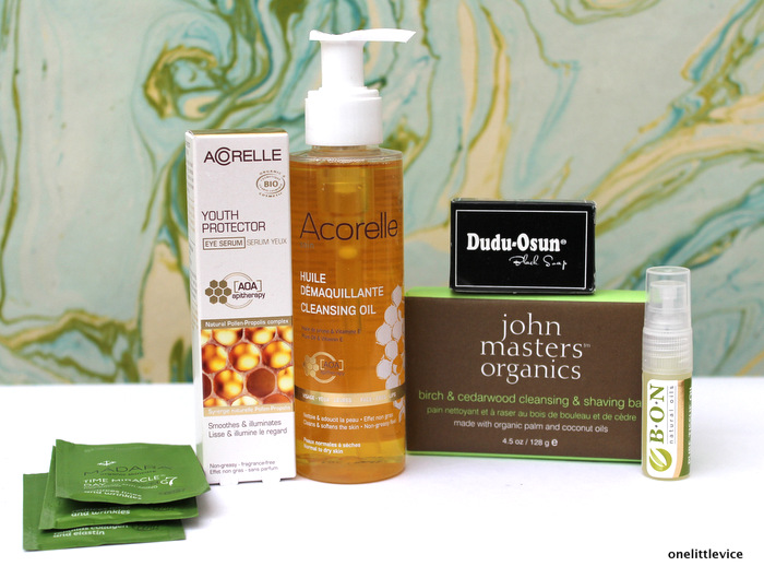 One Little Vice Beauty Blog: Natural Beauty Subscription Box Review