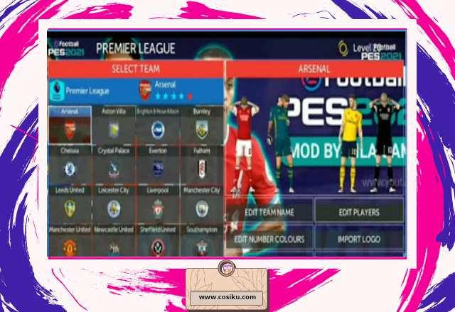 FTS Mod Pes 2021 Shopee Liga 1 Indonesia Terbaru, Size 300MB