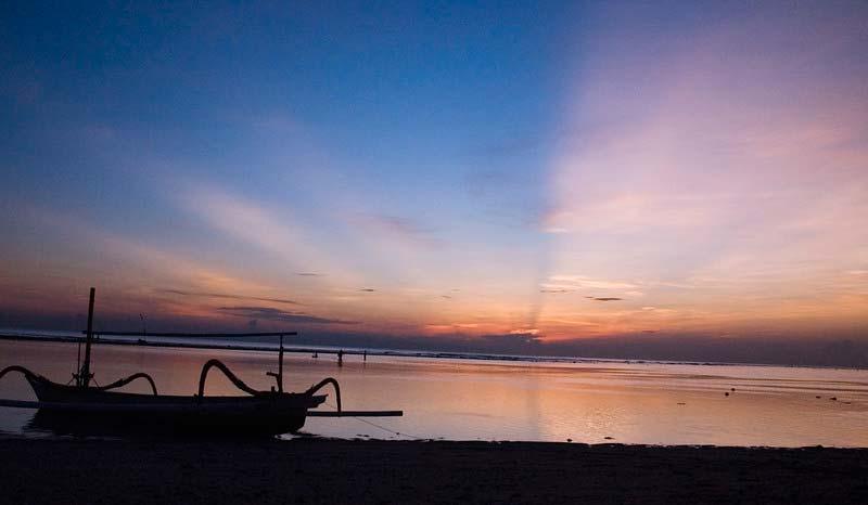 Fasilitas Wisata di Pantai Sanur Bali