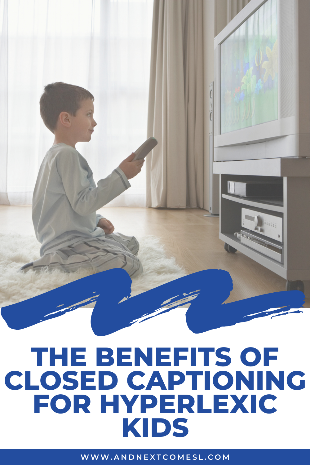 The benefits of closed captioning and reading subtitles for hyperlexic kids and how they can be used to help boost comprehension and understanding