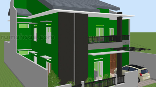 Denah Rumah Islami + Tempat Kost