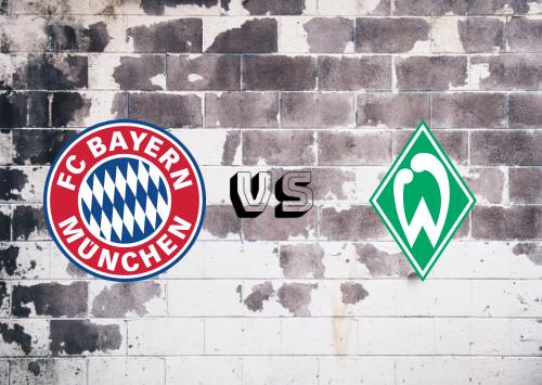 Bayern München vs Werder Bremen  Resumen y Partido Completo