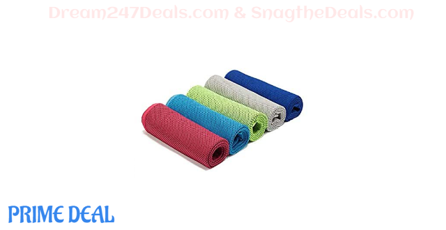 50% OFF Cooling Towel Pack of 2