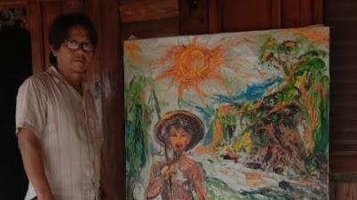 Lukisan Karya Sugeng Penuh Makna