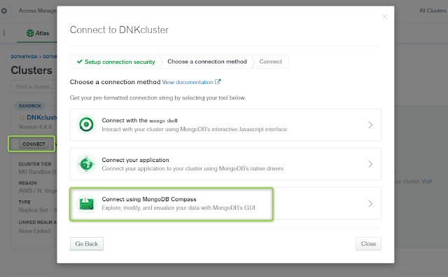 How to Download and Install MongoDB Compass- DotNetKida